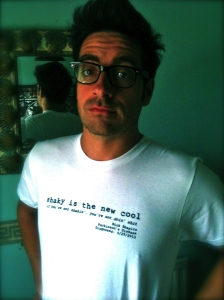 Matt Roper in his Parkinson's Disease teeshirt