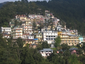 Mcleod Ganj in the Himalayas