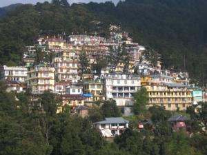 Mcleod Ganj in the Himalayas