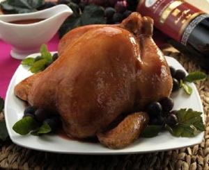 A chicken (deceased)