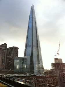 The BBC has now taken on the shape of The Shard in London