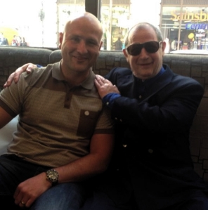 Entrepreneur Steve Wraith and Micky Fawcett recently
