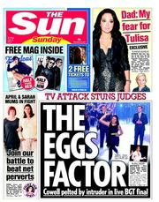 Yesterday - an irresistible pun for the Sun