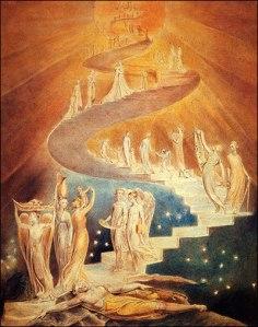 William Blake's vision of Jacob's Ladder
