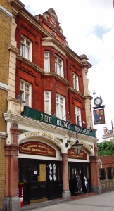 The Blind Beggar pub in London