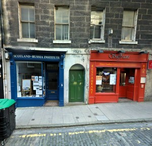 Bob's Bookshop (left) is a fine venue
