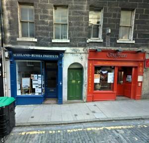 Bob's Bookshop (left) is a fine venue
