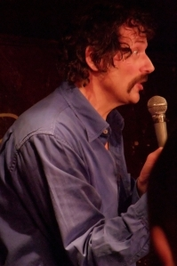 Dave Thompson - no room for comedy