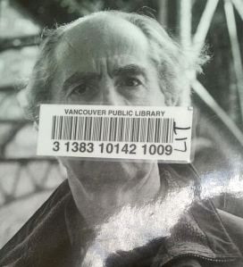 Roth's complaint - gagged barcode