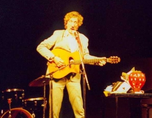 Steve at the Edinburgh Fringe in 1993