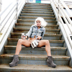 Adrienne Truscott and her one-woman bottomless show