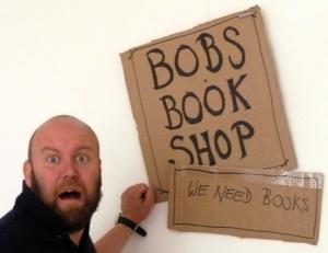 Bob Slayer -desperate for books