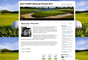 Golf Planet - comedy site whose reviews are a load of balls
