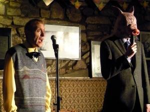 Johnny Sorrow (left) in The Bob Blackman Appreciation Society