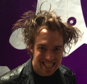 John Robertson - a man with outstanding hair