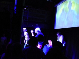 The Rubberbandits at the Gilded Balloon yesterday