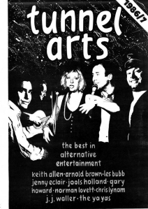 Tunnel Arts - Malcolm's early management company