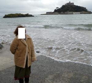 My eternally-un-named friend, somewhere in Britain