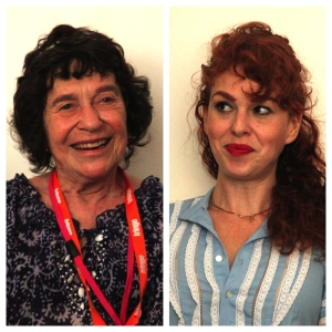 Lynn Ruth Miller (left) and Laura Levites agreed on men