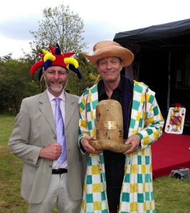 Martin Soan (right) won 2013 International Jesters Tournament