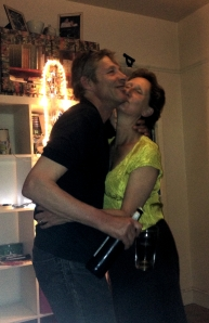 Martin and Vivienne Soan at home last night