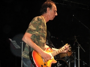 Paul Fox in final gig with The Ruts at Islington in July 2007