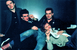 The Ruts on the inside cover of their CD The Crack