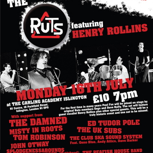 Paul's final gig with The Ruts on 16th July 2007