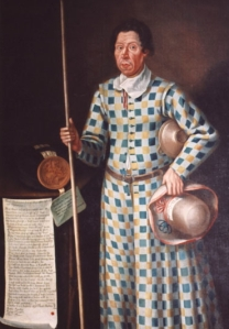 The original Tom Fool of Muncaster Castle