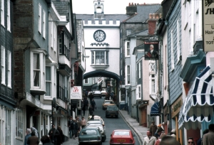 Totnes - like a model village but real... or maybe it is surreal