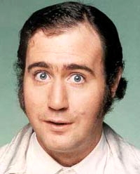 Comedy hero Andy Kaufman