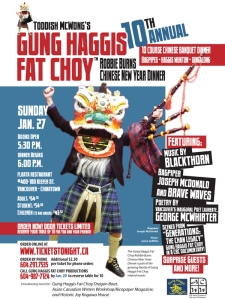 Half Burns Night, half Chinese New Year - in Vancouver