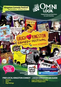 The Kingston Comedy Festival in aid of charity