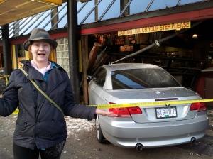 Anna Smith at Car Crash