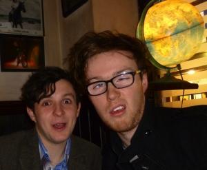 Seeking any employment: Gareth Ellis (left) and Richard Rose