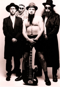 Guns 'n' Moses(L-RMike Cosgrave, Al Murray, Dave Cohen, Jim Tavare)