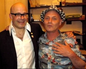 Harry Hill (left) and Martin Besserman at Monkey Business