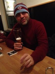 Martin the speech theraüist in Nurenberg last night