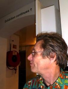 Martin Soan at the ICA last night