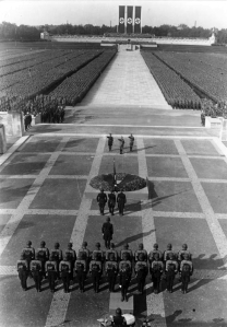 One of the Thousand Year Reich's Nuremberg Rallies