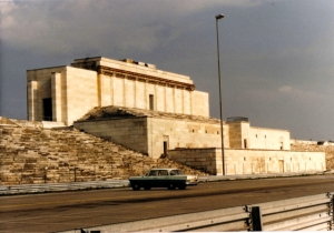 The Noremberg Rally review stand in 1993