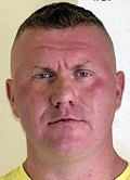 Police photo of Raoul Moat