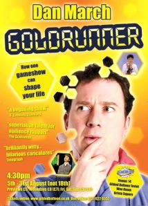 Dan's 2009 solo show about appearing in Blockbusters