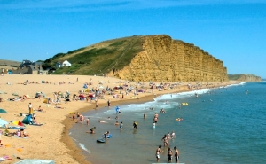 East Cliff, West Bay, Bridport in Dorset