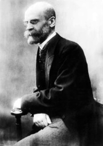 Émile Durkheim, early social researcher
