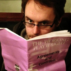 Jon Brittain - a working playwright