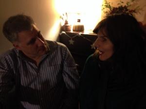 Lewis Schaffer with Harriet Bowden
