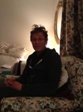 Martin Soan prepares himself for Switzerland