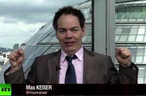 Max Keiser presents his Report on Russia Today TV
