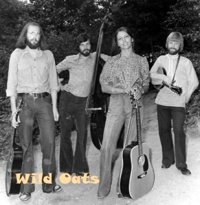 Wild Oats' album cover with Mr Smith (extreme left) and future wife Viva